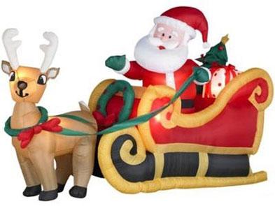 Addobbi di Natale - Babbo Natale